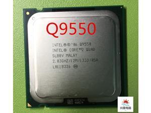 Intel Core 2 Quad Q9550  q9550 2.83 GHz 12M 1333 Quad Core Processore Intel LGA775 CPU