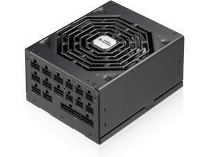 Super Flower Leadex Platinum Special Edition 1000W 80 Plus Platinum, ECO Fanless & Silent Mode, Full Modular Power Supply, Dual Ball Bearing Fan, SF-1000F14MP