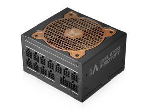 Super Flower Leadex V Gold PRO 1000W 80+ Gold, Smallest 130mm 1000W ATX PSU, 10 Years Warranty, Patent Super Connectors, Full Modular With Ultra-Flexible Flat Ribbon Cables, FDB PWM Fan, SF-1000F14TG