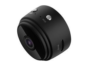 A9 Home Security Camera, Wifi Mini Hidden Camera with Motion Detection Night Vision, HD 1080P, Built-in Battery