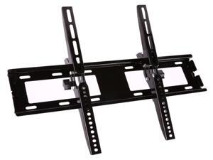 """Brightup TV Wall Mount Bracket Tilt TV Mount Low Profile for Most 26-55 inch LED OLED LCD HD TVs Plasma Flat Curved Screens VESA Pattern up to 400X400 mm 110 LBS Loading Fits 8"""" 12"""" 16"""" Wood Studs"""