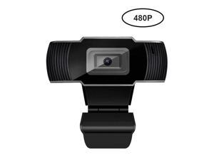Brightup Rotatable HD Webcam USB Camera 480P Video Recording Web Camera With Microphone
