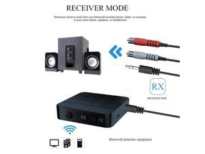 Brightup Audio Music Adapter KN321 KN319 2 in 1 Bluetooth 5.0 Transmitter Receiver HiFi
