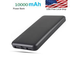 Brightup 10000mAh portable Mini Power Bank Portable Charger Dual USB Ports External Battery for Iphone Samsung Mobile Cellphone