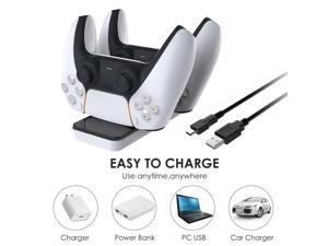 For PS5 Wireless Game Controller USB Charging Cable Replacement USB Charger