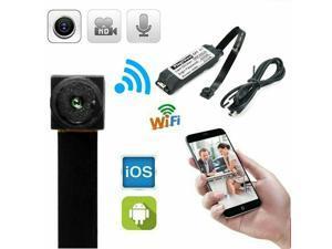 Spy Camera Module Wireless Hidden Camera WiFi Mini Cam HD 1080P DIY Tiny Cams Small Nanny Cameras Home Security Live Streaming Through Android/iOS App Motion Detection