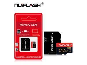 512GB Micro SD Card Ultra C10 U3 Memory Card 512GB High Speed Class 10 TF Card with Adapter(512GB)
