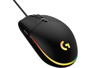 Logitech G102 Light Sync Gaming Mouse with Customizable RGB Lighting, 6 Programmable Buttons, Gaming Grade Sensor, 8 k dpi Tracking,16.8mn Color, Light Weight