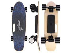 Electric Skateboard Longboard Scooter 12.4 MPH 6.2 Mile Range 350W With Remote