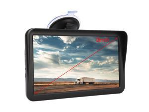 9 Inch GPS Navigation For Vehicle Car Truck, With Built-in 8GB ROM, Lifetime Maps Update, Touchscreen, Driving Alarm