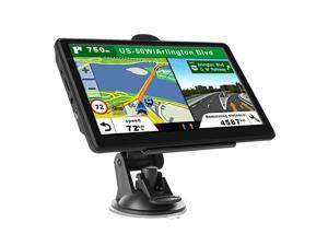 7 inch Car Truck GPS Navigation 8GB Rom HD Touch Screen America Map Permanent Free Upgrade