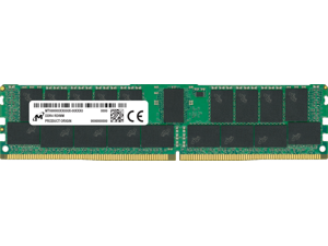 Micron 64GB DDR4 3200 8Gx72 ECC CL22 RDIMM Server Memory Module - MTA36ASF8G72PZ-3G2B2
