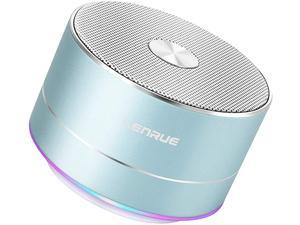 Portable Wireless Bluetooth Speaker with Built-in-Mic,Handsfree Call,AUX Line,TF Card Slot,HD Sound and Bass for iPhone Ipad Android Smartphone and More(Blue)