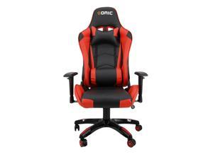 Goaic Gaming Chair Office Desk Chair Ergonomic High Back PC Desk Chair Adjustable 3D Armrests Gamer Chair, Computer Gaming Recliner Chair with Headrest and Lumbar Pillow Support (Black/Red)