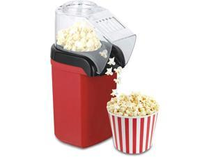 Hot Air Popcorn Machine, 1200W Electric Popcorn Maker 98% Poping Rate, BPA-Free, for Birthday Parties, Movie Nights