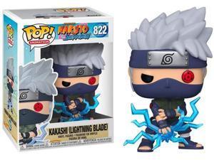 Funko Pop! Animation: Naruto Shippuden – Kakashi (Lightning Blade) #822 Vinyl Figure – Special Edition Exclusive