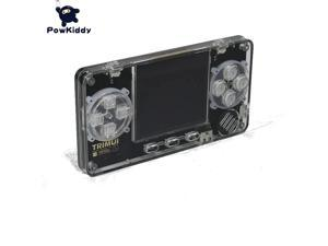 POWKIDDY A66 Trimui 32GB 4000 Games 2 inch IPS LCD Mini Transparent Game Console for PS for MD  Arcade Handheld Game Players