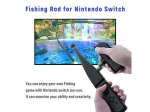 for Nintendo Switch for Joy-Con Controller Handheld Game Handgrip Handle Joypad Stand Holder Fishing Rod Pole Game Accessories