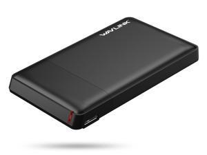 "USB 3.0 to SATA III 2.5"" External Hard DriveEnclosure Wavlink Hard Drive Case for 7mm and 9.5mm 2.5 Inch SATA HDD/SSD, USB Hard Drive Dock, Tool Free, Easy Installation"