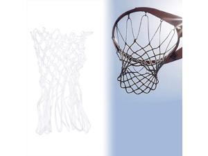 LIOOBO Basketball Net Replacement All Weather Heavy Duty Thick Net 12 Loops (White)