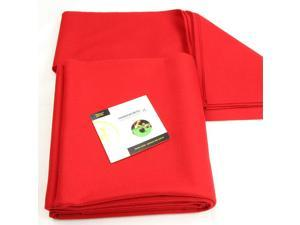 Hainsworth CLUB Bed & Cushion Set for 7ft UK Pool Table – RED - FREE DVD