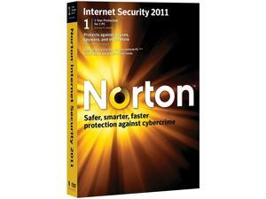 Norton Internet Security 2011, 1 Computer, 1 Year Subscription (PC)