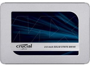 Crucial MX500 500 GB CT500MX500SSD1-Up to 560 MB/s (3D NAND, SATA, 2.5 Inch, Internal SSD)