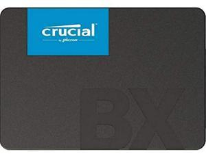 Crucial BX500 480 GB CT480BX500SSD1-Up to 540 MB/s (Internal SSD, 3D NAND, SATA, 2.5 Inch)