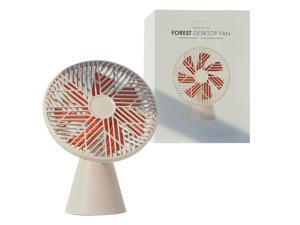 Portable, Desktop Fan Can Be Adjusted in Summer, Ultra-Quiet Personal Fan for Home Office,Detachable Design, Easy To Clean.