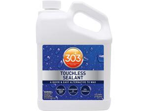 303 Touchless Sealant - SiO2 Technology - Water Activated Paint and Glass Protection - Spray On, Rinse Off, Refill for Trigger Spray Bottle,1 Gallon (30399)