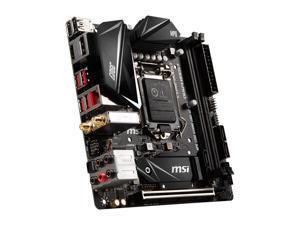 RSRUT MSI MPG Z390I GAMING EDGE AC LGA 1151 (300 Series) Intel Z390 HDMI SATA 6Gb/s USB 3.1 Mini ITX Intel Motherboard
