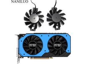 New GA82S2H 4Pin GTX950 Cooler Fan Replace For Palit GeForce GTX 950 StormX Dual Graphics Card Fan