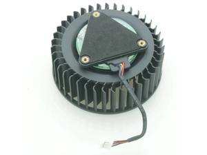 PLB07525B12HH DC12V 1.20A 75mm For MSI RX VEGA 56 64 AIR BOOST 8G OC Graphics Card Cooling Fan 4Wire 4Pin