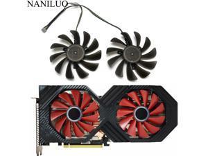 2PCS/lot 95MM FDC10U12S9-C CF1010U12S VEGA 64 56 Double Edition For XFX AMD Radeon VEGA56 VEGA64 RX590 Graphics Card Cooling Fan