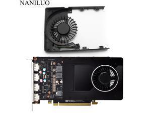 New DC12V 0.43A For LEADTEK Quadro P2000 5GB MGT7012YB-W20 HF Graphics Video Card cooling fan