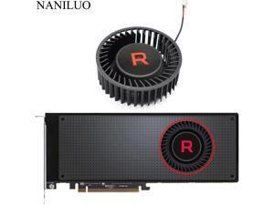 BFB1012SHA01 BV5 RX VEGA56 VEGA64 Cooler Fan For AMD XFX Radeon RX VEGA 64 56 SILVER Graphics Card Fan