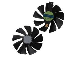 2Pcs CF1015H12S 12V Cooler Fan Replacement For Sapphire NITRO RX 580 570 480 470 4G RX Vega64 8GB Graphics Card Cooling Fan C26