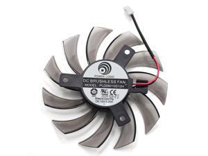 75MM PLD08010S12H 2Pin 3Pin HD 6850 Cooler Fan For NVIDIA GeForce GTX 560 460 Ti R7 260x R270X MSI 560 Ti Graphics Video Card