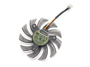 T128010SM 75mm 3Pin/2Pin Cooler Fan Replace For Gigabyte GTX580 GTX670 560TI R9 280X HD5870 5770 N470SO N580UD Graphics Card
