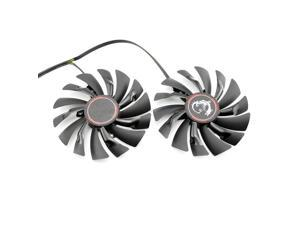 95MM PLD10010S12HH 6Pin Graphics Video Card Cooler Fan For MSI GTX970 GeForce GTX 970 GAMING Dual Fans Twin Cooling Fan