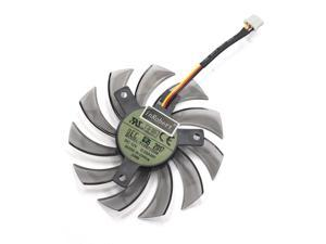 Everflow T128010SM 75mm 3Pin 3Wire Cooler Fan Replace For Gigabyte GTX580 GTX670 560TI R9 280X HD5870 5770 Graphics Card