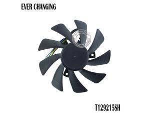 85MM T129215SH DC12V 0.30AMP 4PIN Graphic Card Cooling Fan for Zotac GeForce GTX 1060 3GB itx mini