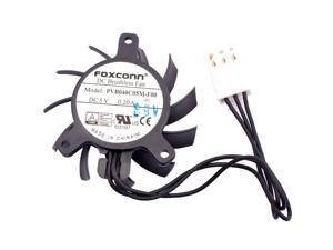 PVB040C05M-F00 diameter 40mm mounting hole pitch 23x30x30mm 5V 0.20A industrial control router graphics card cooling fan