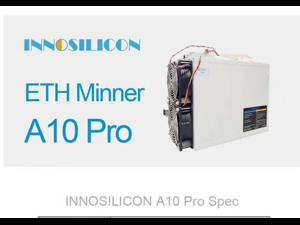 INNOSILICON A10 PRO(5G) 500M Ethereum mining machine (upgraded version) INNOSILICON A10 PRO(5G) 500M