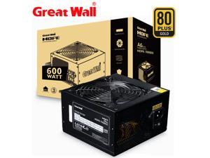 Great Wall HOPE-7000DS 600W Power Supply 12V ATX Version 2.31 PSU 80 PLUS BRONZE 12cm Fan Power Supplies for PC Computer Power Supply