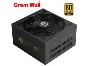 Great Wall G7 Power Supply 750W 80PLUS GOLD Full Modular Computer Power Supplies for PC 14cm Mute Fan ATX 12V E-Sports Gaming Power Supply