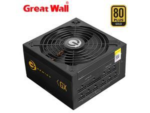Great Wall 850W Power Supply ATX 12V Full Modular 80PLUS GOLD PSU E-Sport 14cm Fan Power Supplies for PC Gaming Power Supply
