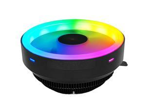 Coolmoon GY RGB CPU Cooling Fan 120mm Small 3 Pin Silent Raditor for Intel LGA 775 115X AMD AM3 PC Computer Cooler Fan