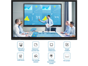 4K display interactive meeting room large led writing smart interactive whiteboard tablet for remote video conferences