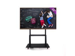 """4K Display Interactive Tablet 85"""" Interactive Smart Conference LED Screen with Holder Built-in Wi-Fi Realizes Wireless Screen"""